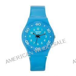 Trendy Junior Mädchen-Armbanduhr Analog Plastik blau KL 186