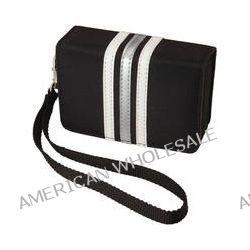 Pentax Fashion Wrist Case (Black with White Stripes) 85216 B&H