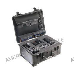 Pelican 1560LFC Case With Foam In Base (Black) 1560-008-110 B&H