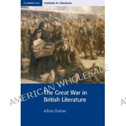 the involvement of war in british literature Modernist literature was a predominantly english genre of fiction writing, popular from roughly the 1910s into the 1960s modernist literature came into its own.