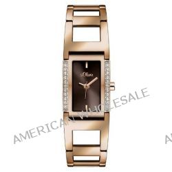 s.Oliver Damen-Armbanduhr XS Analog Quarz Edelstahl SO-2840-MQ