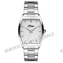 s.Oliver Damen-Armbanduhr XS Analog Quarz Edelstahl SO-2775-MQ