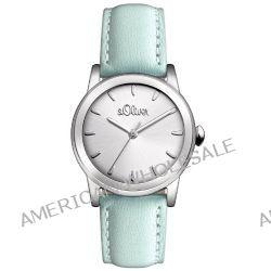 s.Oliver Damen-Armbanduhr XS Analog Quarz Leder SO-2604-LQ