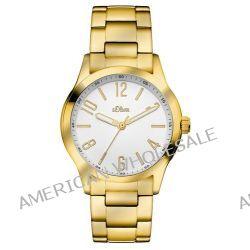 s.Oliver Damen-Armbanduhr XS Analog Quarz Edelstahl SO-2782-MQ