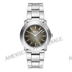 s.Oliver Damen-Armbanduhr XS Analog Quarz Edelstahl SO-2795-MQ