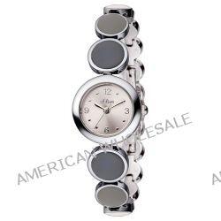 s.Oliver Damen-Armbanduhr XS Analog Quarz Edelstahl SO-2762-MQ