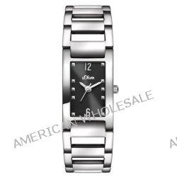 s.Oliver Damen-Armbanduhr XS Analog Quarz Edelstahl SO-2801-MQ