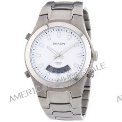 Shaon Herren-Armbanduhr XL Analog - Digital Quarz Titan 53-7910-88