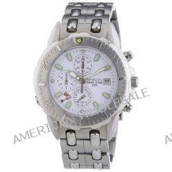 Shaon Herren-Armbanduhr XL Analog Quarz Edelstahl 35-7910-18
