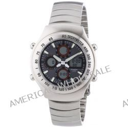 Shaon Herren-Armbanduhr XL Analog - Digital Quarz Edelstahl 44-7900-48