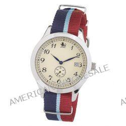 Smart Turnout Herren-Armbanduhr Analog textil blau RAF/56/W
