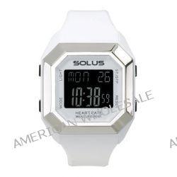 Solus Unisex-Armbanduhr Digital Quartz Kunststoff weiß SL-840-002