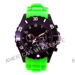 Silikon Uhr Chronopragh Grün Trend Watch Style Sport Herrenuhr Damenuhr HOT