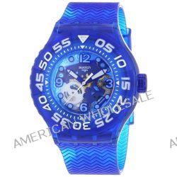Swatch Unisex-Armbanduhr La Nave Va Analog Quarz Plastik SUUS100