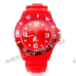 Kinder Silikon Uhr XXS Rot Trend Watch Big Face Style Sport Herrenuhr Damenuhr HOT