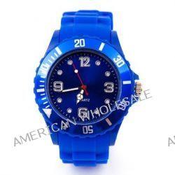 Kinder Silikon Uhr XXS Blau Trend Watch Big Face Style Sport Herrenuhr Damenuhr HOT