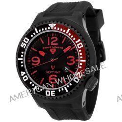 Swiss Legend Herren-Armbanduhr Analog Kautschuk schwarz SL00008/04
