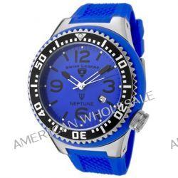 Swiss Legend Herren-Armbanduhr Analog Kautschuk blau SL00010/05