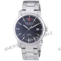 Swiss Military Hanowa Herren-Armbanduhr XL SWISS RECRUIT PRIME Analog Quarz Edelstahl 06-5044.1.04.009