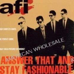 Answer That & Stay Fashionable Hardcore Punkrock - Afi