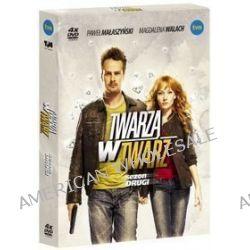 Twarzą w twarz - sezon 2 (4 DVD) (DVD) - Patryk Vega