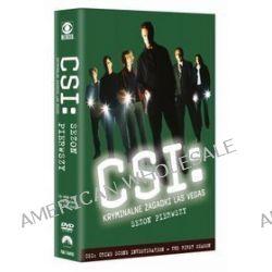 CSI: Kryminalne zagadki Las Vegas - sezon 1 (DVD)