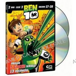 Ben 10 - część 3 (2 DVD) (DVD) - Scooter Tidwell