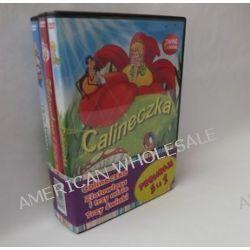 Bajki dla dzieci - Calineczka, Złotowłosa i trzy misie, Trzy świnki (3 DVD) (DVD)