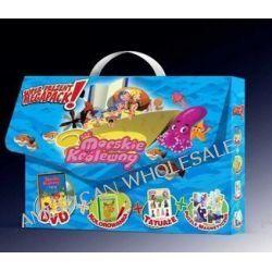 Morskie Królewny (DVD+kolorowanka+tatuaże+puzzle magnetyczne) (DVD)