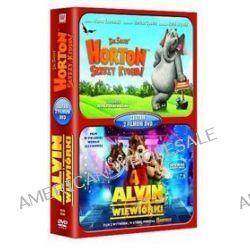 Horton słyszy Ktosia / Alvin i wiewiórki - zestaw (2 DVD) (DVD)