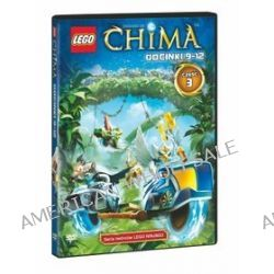 Lego Chima, część 3 (odcinki 9-12) (DVD) - Andre Bergs, Peder Pedersen, Lee Stringer