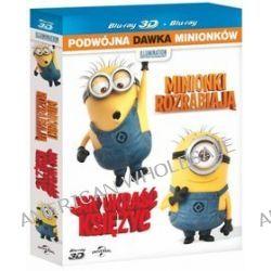 Minionki rozrabiają 3D + 2D + Jak ukraść księżyc 3D + 2D - pakiet filmowy (4 Blu-ray) (Blu-ray Disc) - Pierre Coffin, Chris Renaud
