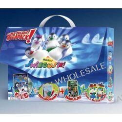 Śniegusie (DVD+kolorowanka+naklejki+puzzle magnetyczne) (DVD)