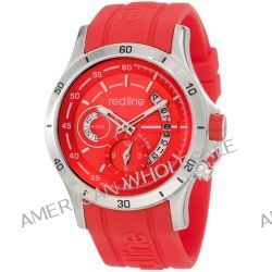 red line Herren 50021-05-RD Tech Red Dial Red Silicone Uhr