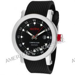 red line Herren RL-18000-01RD1 Compressor Black Dial Silicone Uhr