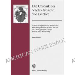 Bücher: Die Chronik des Václav Nosidlo von Geblice