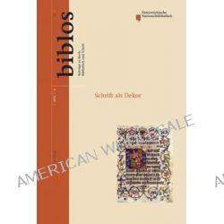 Bücher: Schrift als Dekor