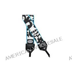 Mod Damask Camera Strap Black and White Damask Pattern MOD206