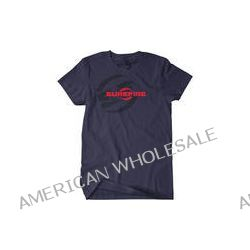 SureFire Double Logo T-Shirt (Small, Navy) SST-SF-BL-01 B&H