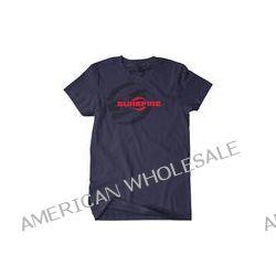 SureFire Double Logo T-Shirt (Medium, Navy) SST-SF-BL-02 B&H