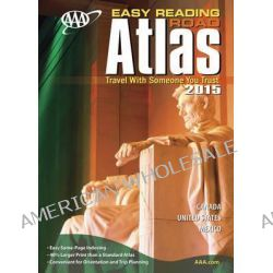 AAA Easy Reading Road Atlas 2015 by AAA Publishing, 9781595085535.