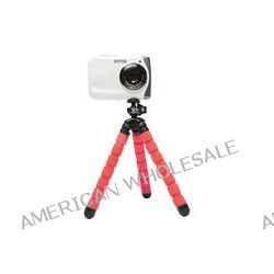 XSORIES Bendy Tripod with Ball Head (Red) OCL-100699 B&H Photo