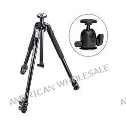 Manfrotto MT190X3 Aluminum Tripod with 496 Compact Ball Head B&H