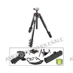 Manfrotto MT190XPRO4 Aluminum Tripod with 322RC2 Grip Action B&H