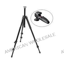 Manfrotto 294 Aluminum 3 Section Tripod with 327RC2 Grip MT294A3