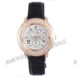 RSW Herren-Armbanduhr XL Volante Analog Leder 4130.PP.L1.52.00