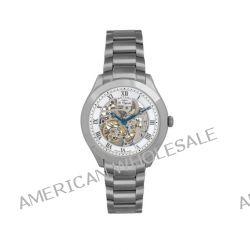 Rotary Herren-Armbanduhr XL Jura Analog Automatik Edelstahl GB90514/21
