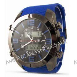 PG Branded Fashion Blaue Rubber Strap Herren Uhr / Uhr für Herren