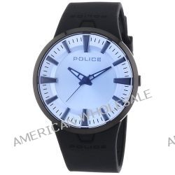 Police Herren-Armbanduhr XL DAKAR Analog Quarz Kautschuk P14197JSB-04