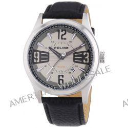 POLICE Herren-Armbanduhr XL LANCER Analog Quarz Leder P13453JS-61